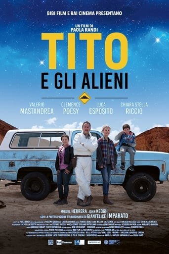 Poster of Little Tito and the Aliens