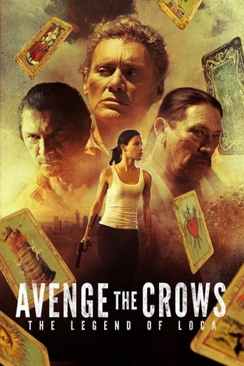Poster of Avenge the Crows: The Legend of Loca