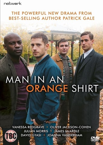 Poster of Man in an Orange Shirt