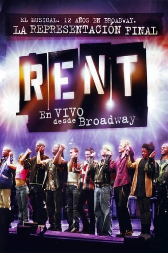 Poster of Rent: En vivo desde Broadway