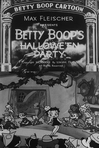 Betty Boop's Hallowe'en Party Movie Poster