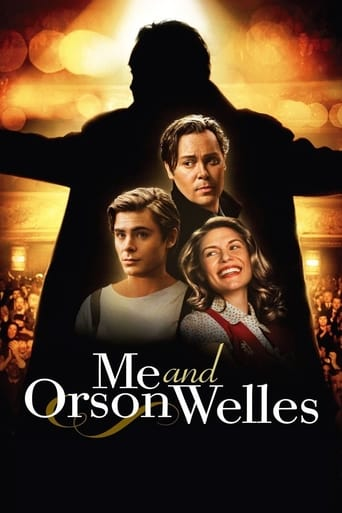 Me and Orson Welles Poster
