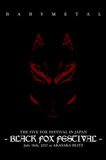 Poster of Babymetal - The Five Fox Festival in Japan - Black Fox Festival