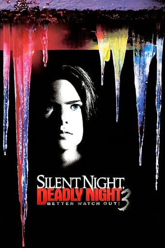 Poster of Silent Night, Deadly Night III: Better Watch Out!