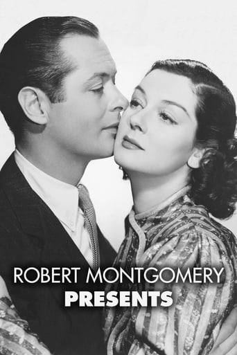 Poster of Robert Montgomery Presents