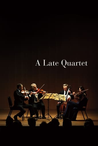 A Late Quartet Poster