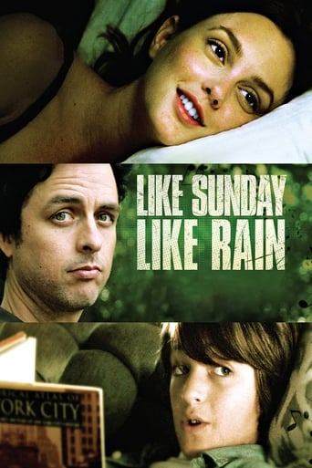 Poster of Like Sunday, Like Rain