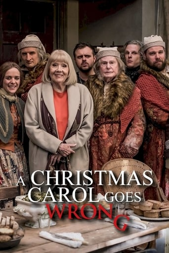 Poster of A Christmas Carol Goes Wrong