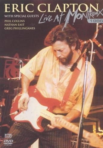 Poster of Eric Clapton - Live at Montreux 1986