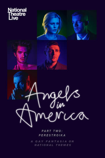 Poster of National Theatre Live: Angels in America: Part 2 - Perestroika