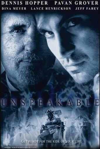 Poster of Unspeakable