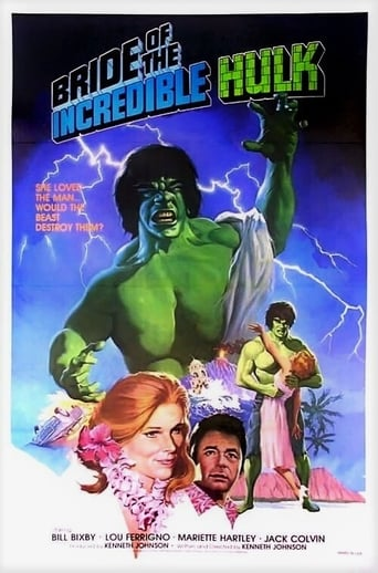 Poster of Bride of the Incredible Hulk