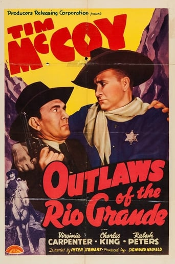 Poster of Outlaws of the Rio Grande