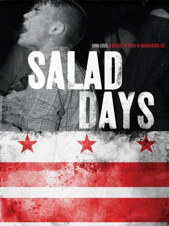 Poster of Salad Days: A Decade of Punk in Washington, DC (1980-90)