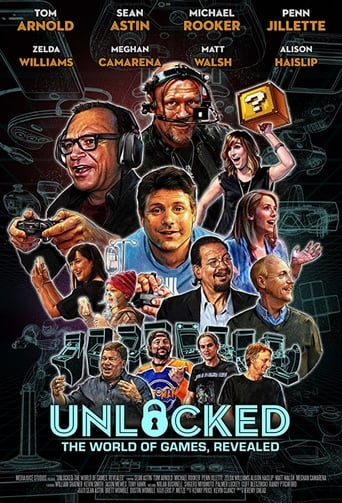 Poster of Unlocked: The World of Games, Revealed