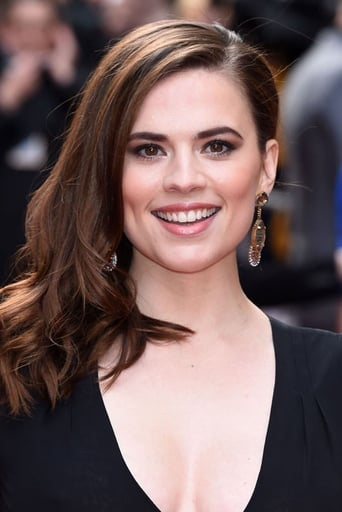 Hayley Atwell alias Peggy Carter