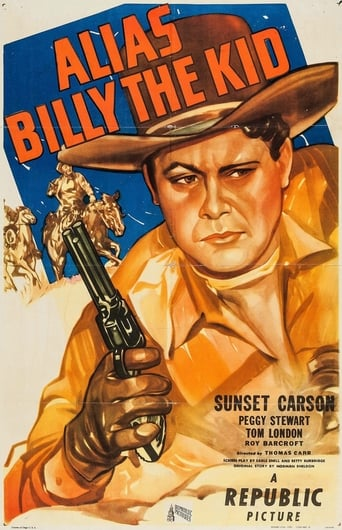 Poster of Alias Billy the Kid