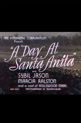 Poster of A Day at Santa Anita