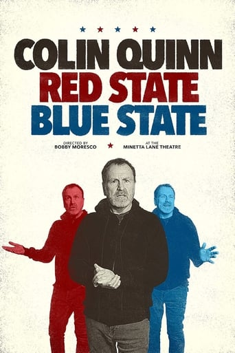 Poster of Colin Quinn: Red State, Blue State