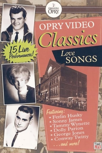 Poster of Opry Video Classics: Love Songs