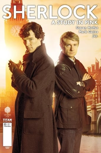 Poster of Sherlock - Study in Pink