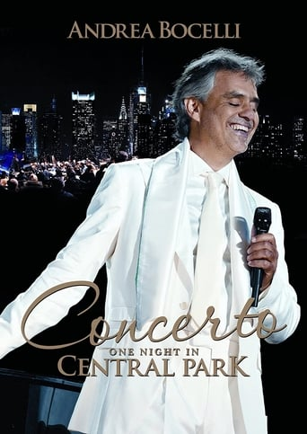 Poster of Andrea Bocelli: Concerto - One Night in Central Park