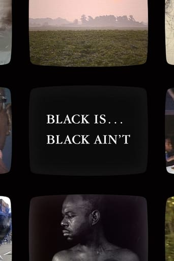 Poster Black Is... Black Ain't