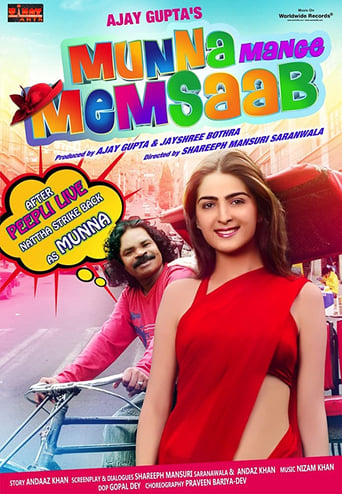 Poster of Munna Mange Memsaab