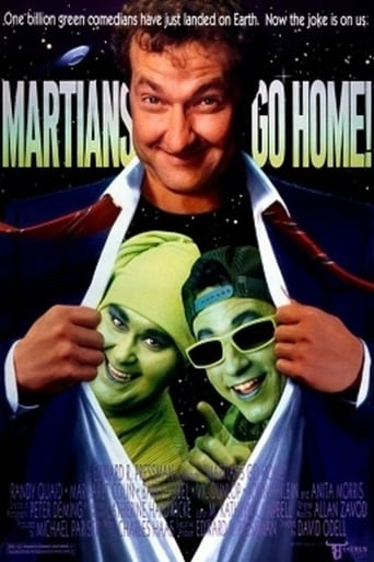 Poster of Martians Go Home