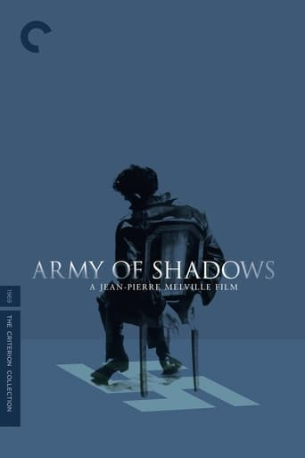 Poster Army of Shadows