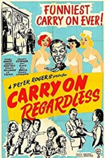 Poster of Carry On Regardless