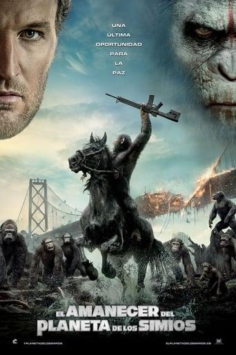 Poster of El amanecer del planeta de los simios