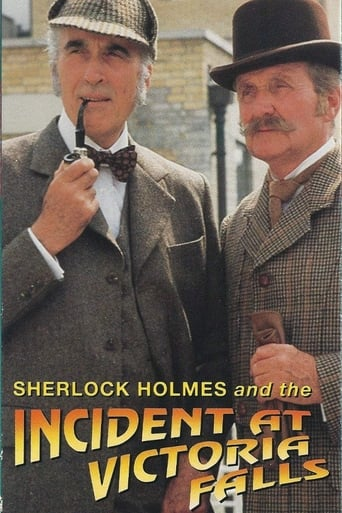 Poster of Sherlock Holmes: Incident at Victoria Falls