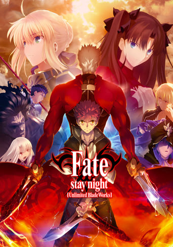 Poster of Fate/stay night [Unlimited Blade Works]