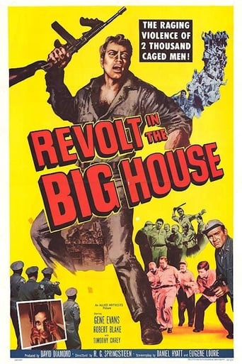 Poster of Revolt in the Big House