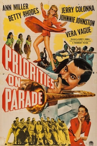 Poster of Priorities on Parade