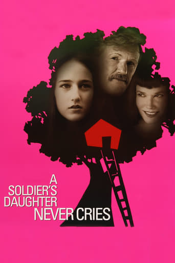 Poster of A Soldier's Daughter Never Cries