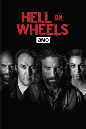 Poster of Hell on Wheels