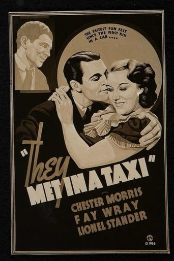 Poster of They Met in a Taxi
