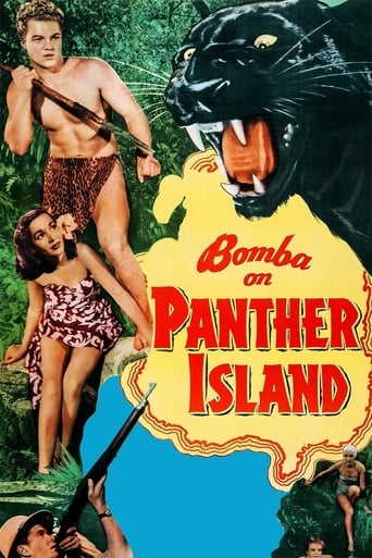 Poster of Bomba on Panther Island