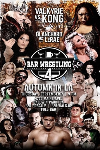 Poster of Bar Wrestling 4: Autumn In LA