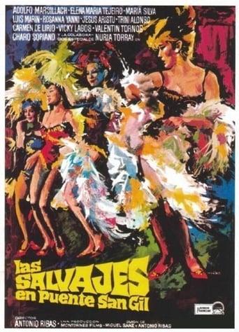 Poster of Las salvajes en Puente San Gil