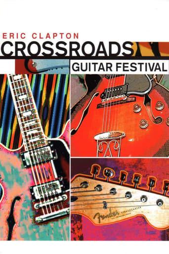 Poster of Eric Clapton's Crossroads Guitar Festival