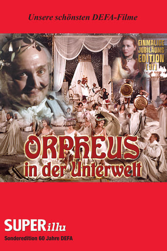 Poster of Orpheus in the Underworld