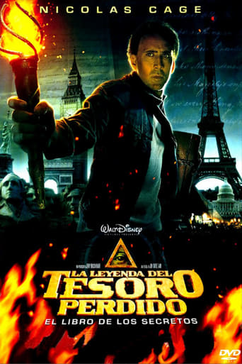 Poster of La búsqueda 2. El diario secreto