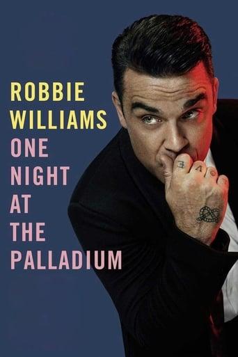 Poster of Robbie Williams: One Night at the Palladium