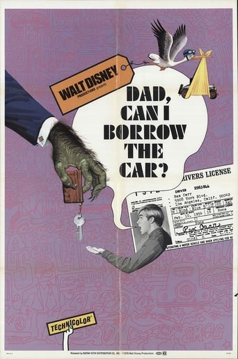 Poster of Dad... Can I Borrow the Car?