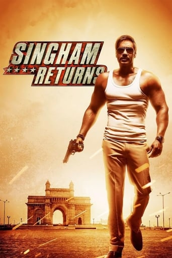 Poster of Singham Returns