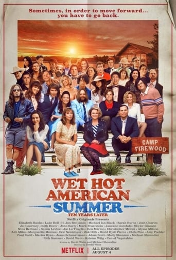 Poster of Wet Hot American Summer: Ten Years Later