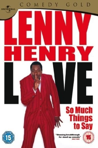 Lenny Henry Live - So Much Things To Say